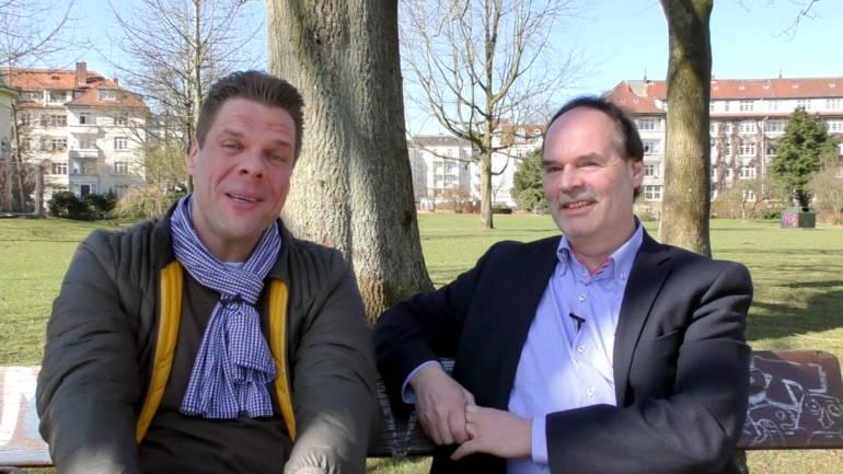 """Diese Bank hat mein Leben gerettet.""  –  Wie Tetje Mierendorf 70 Kilo abgespeckt hat"
