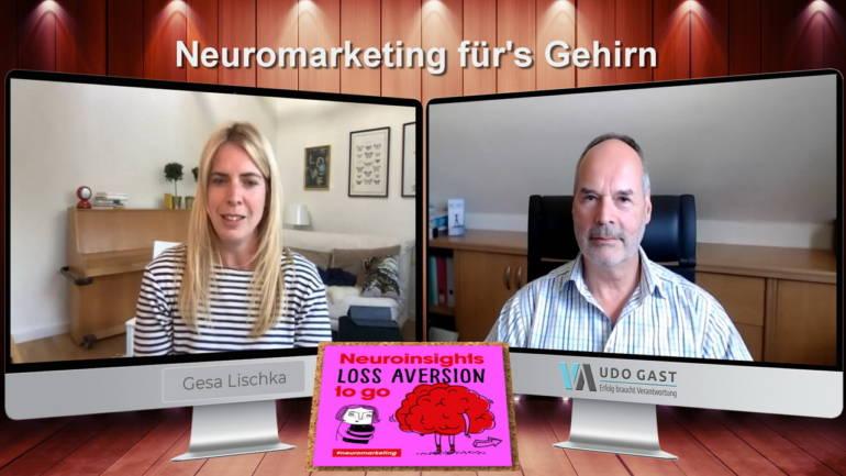 Folge 11: Neuromarkting für's Gehirn – Gesa Lischka