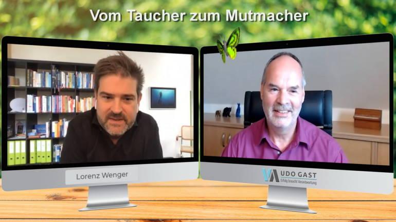 Folge 9: Lorenz Wenger – Vom Taucher zum Mutmacher