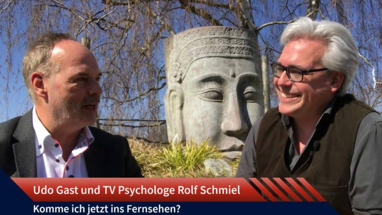 Folge 20: TV Psychologe Rolf Schmiel – Komme ich jetzt ins Fernsehen?