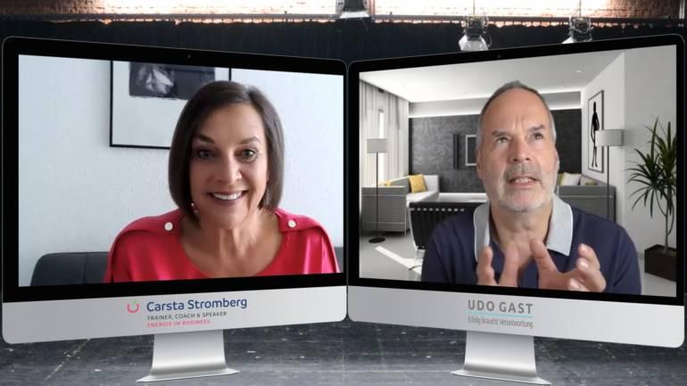Folge 55: Carsta Stromberg – Mit Humor durch die Katastrophenflatrate